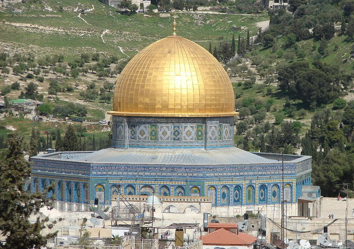 Der Felsendom ist eines der markantesten Wahrzeichens Israels, und eine der wichtigsten Heiligen Städten des Islams. Foto: Christian Maskos