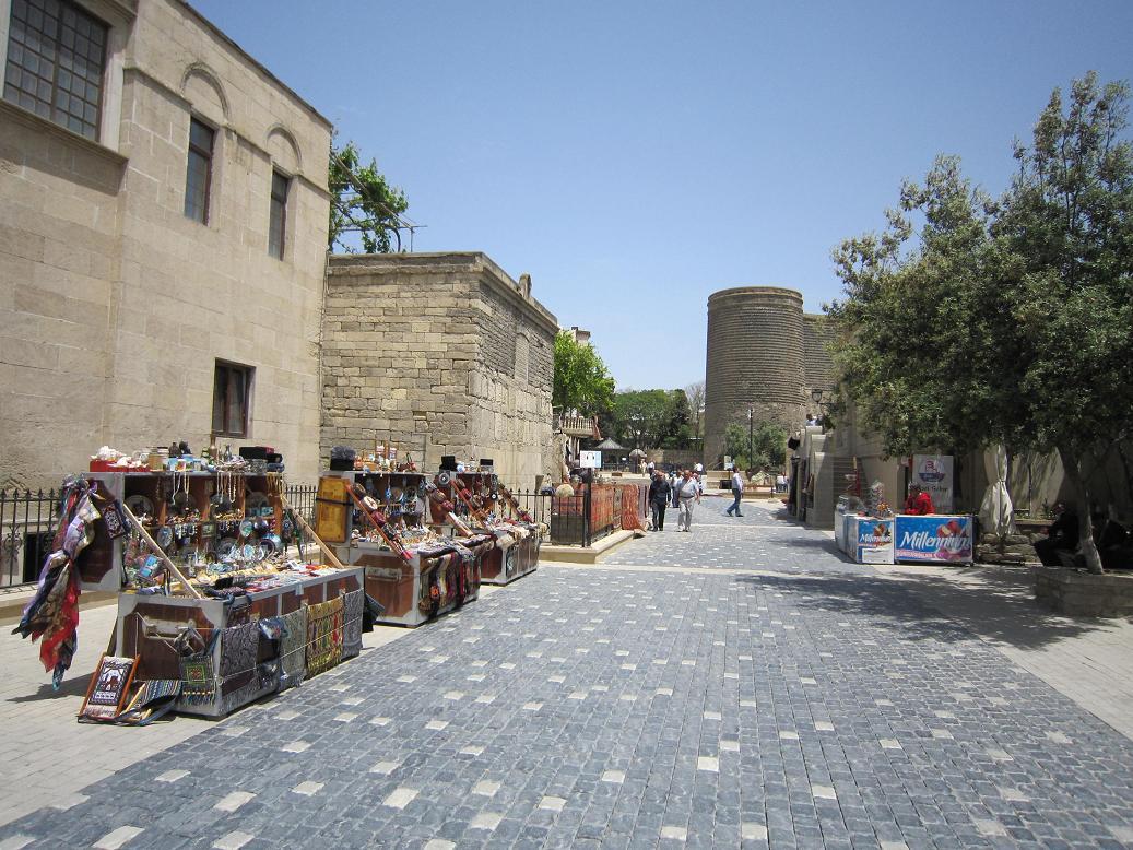Altstadt von Baku. Foto: Wolfgang Hesseler