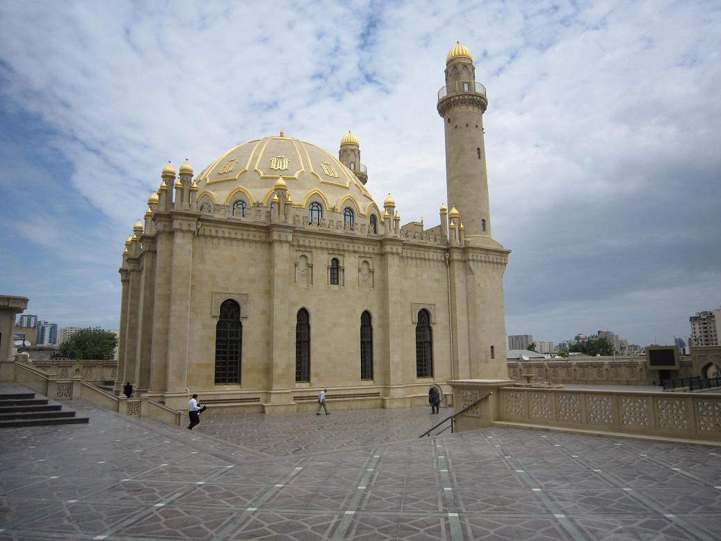 Moschee in Baku. Foto: Wolfgang Hesseler