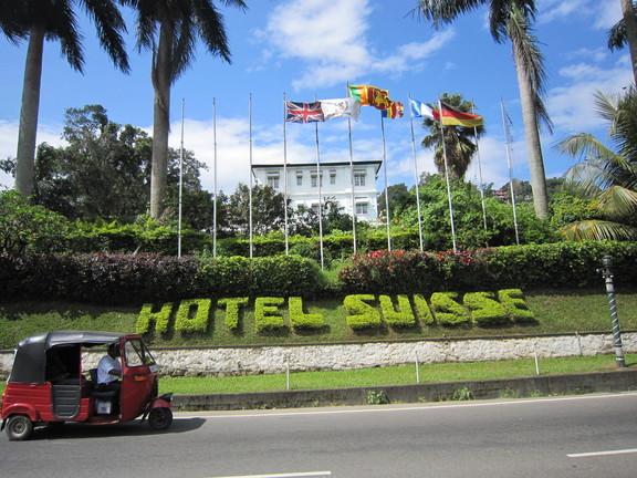 Hotel Suisse in Kandy. Foto: Wolfgang Hesseler