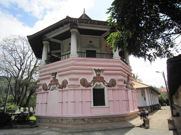Malwatu Maha Viharaya in Kandy. Foto: Wolfgang Hesseler