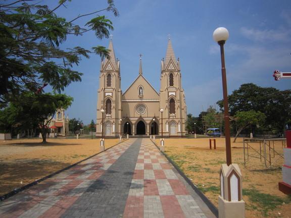 Kirche in Negombo. Foto: Wolfgang Hesseler