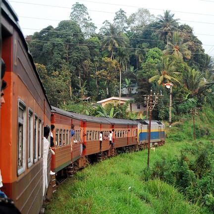 Der ICE nach Kandy. Foto: Christian Maskos